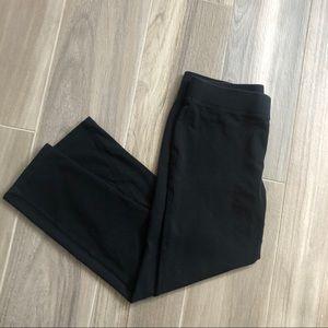 Express black crop leggings